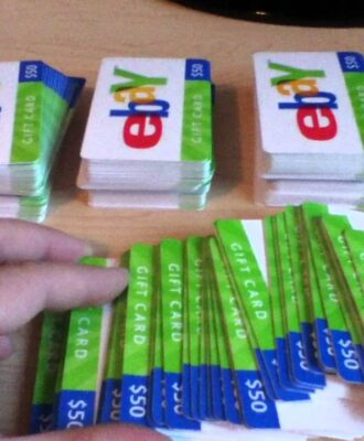 How to get an Ebay gift card